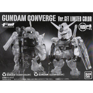 [BANDAI] FW GUNDAM CONVERGE (건담 컨버지) Ver.GFT LIMITED COLOR CLEAR 2종 셋트